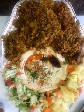 Shawarma Platter