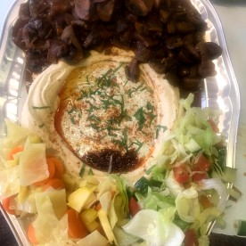 Spicy Mushroom Platter